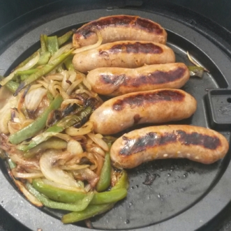 Make It So Key West Boat Charters - Grilling Sausage and Peppers