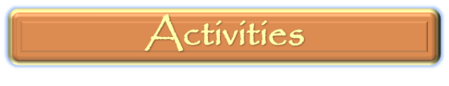 Activities menu bar